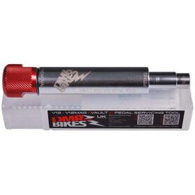 DMR Vault V12 Pedal Tools silver/red